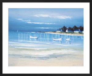 Coastal Inlet II by Georges Flanet