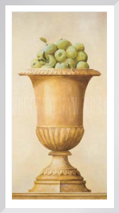 Apples in a Vase by Hampton Hall