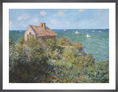 Fisherman's Cottage on the Cliffs at Varengeville, by Claude Monet