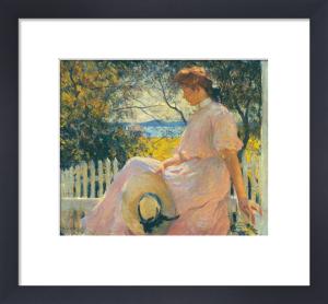 Eleanor, 1907 by Frank Weston Benson