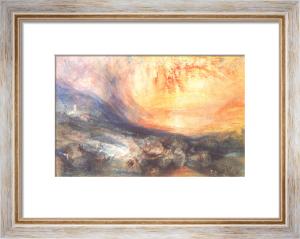 Goldau, 1834 by Joseph Mallord William Turner