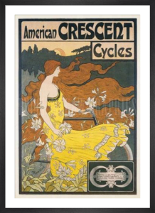 American Crescent Cycles by Frederick Ramsdell
