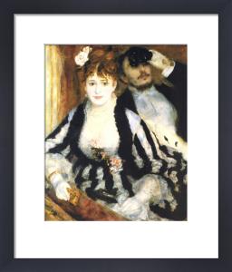 La loge by Pierre Auguste Renoir