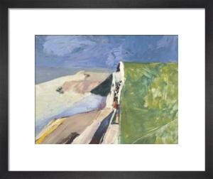 Seawall, 1957 by Richard Diebenkorn