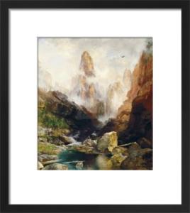 Mist in Kanab Canyon, Utah, 1892 by Thomas Moran