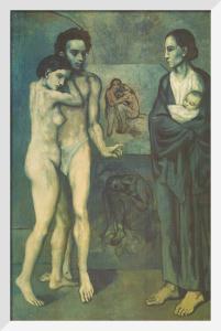 La Vie, 1903 by Pablo Picasso