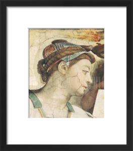 Erythrean Sibyl by Michelangelo