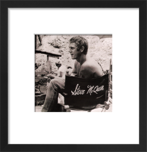 Steve McQueen, 1966 (small) by Anonymous