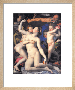 An Allegory with Venus and Cupid by Agnolo Bronzino