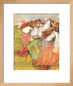 Russian Dancers, c. 1899 by Edgar Degas