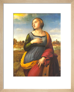 Saint Catherine of Alexandria, 1507 by Raphael