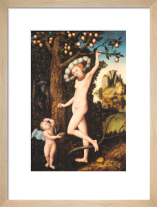 Cupid complaining to Venus by Lucas Cranach the Elder