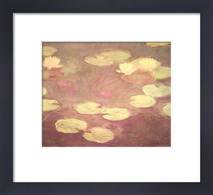 Water Lilies (Le ninfee rosa) by Claude Monet