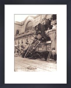La Gare Montparnasse, 1895 by Anonymous