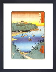 The Small Port and Inlet at Awa by Utagawa Hiroshige