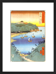 The Small Port and Inlet at Awa by Utagawa Hiroshige I