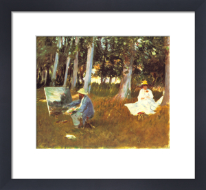 Monet Painting by John Singer Sargent
