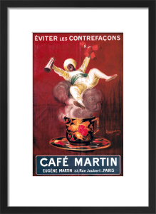 Cafe Martin, 1921 by Leonetto Cappiello