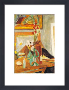Flowers and Studio by Vanessa Bell