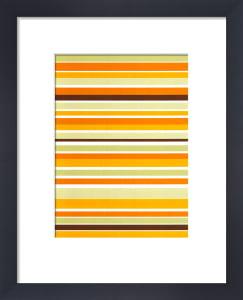 Terracotta Stripes by Denise Duplock