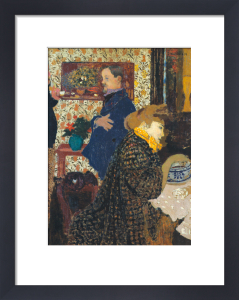 Misia and Vallotton at Villeneuve, 1899 by Edouard Vuillard