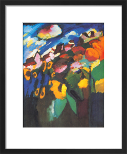 Murnau - The Garden II, 1910 by Wassily Kandinsky