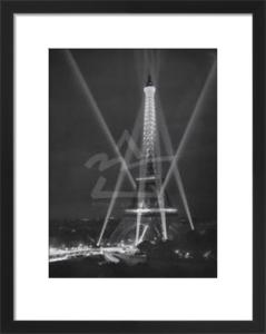 Tour Eiffel, Paris, 14 juillet, 1947 by Rene Jacques