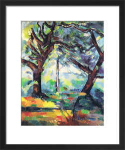 Big Trees by Paul Cezanne