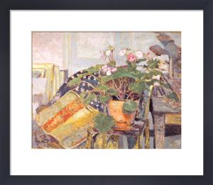 Le pot de fleurs by Edouard Vuillard