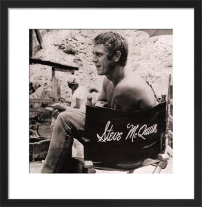 Steve McQueen, 1966 by Anonymous