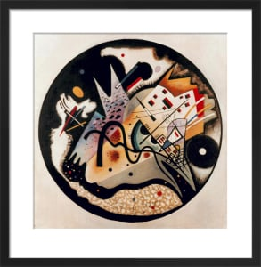 In the Black Circle, 1923 (Dans le Cercle Noir) by Wassily Kandinsky