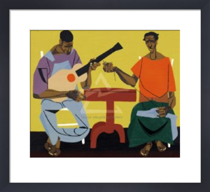 Singing and Mending by Robert Gwathmey