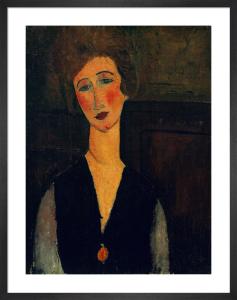 Portrait of a Woman, c.1917-1918 by Amedeo Modigliani