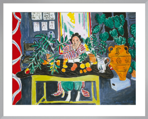 Interior with an Etruscan Vase, 1940 by Henri Matisse