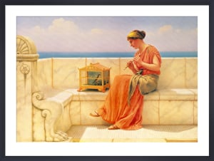 Sweet Sounds, 1918 by John William Godward