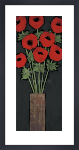 Red Hot Poppies by Rachel Rafferty