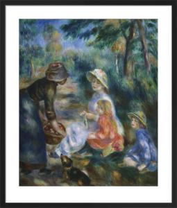 The Apple Seller, c.1890 by Pierre Auguste Renoir