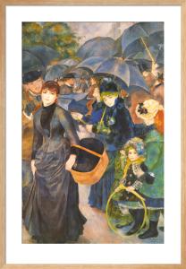 The Umbrellas by Pierre Auguste Renoir