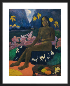 The Seed of Areoi by Paul Gauguin