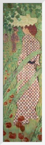 Woman in a Check Dress, 1891 by Pierre Bonnard
