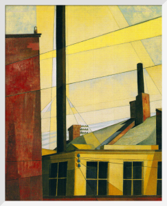 From the Garden of the Chateau, 1921/1925 by Charles Demuth