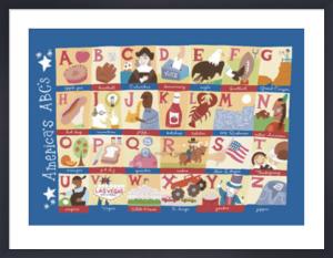 America's Alphabet by Genovese