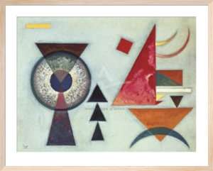 Soft Hard, 1927 by Wassily Kandinsky