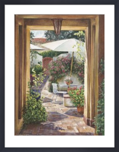 Courtyard Passage by William Mangum