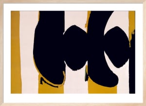 Elegy to the Spanish Republic No. 102 by Robert Motherwell