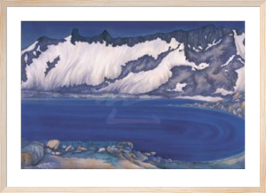 Lake Basin in the High Sierra, ca. 1930 by Chiura Obata
