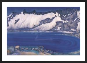 Lake Basin in the High Sierra, ca. 1930 by Chiura Obata