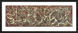 Number 13A: Arabesque by Jackson Pollock