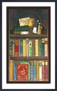 Antique Bookcase I by Pia