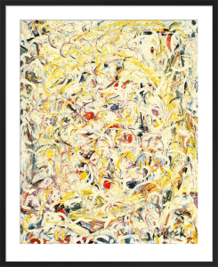 Shimmering Substance, 1946 by Jackson Pollock